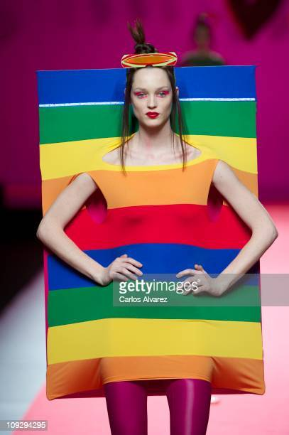 Ágatha Ruiz De La Prada Designer Label Stock Photos and ...