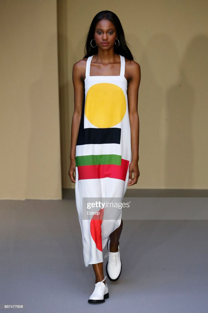model-walks-the-runway-during-the-agnes-b-paris-show-as-part-of-the-picture-id857477006