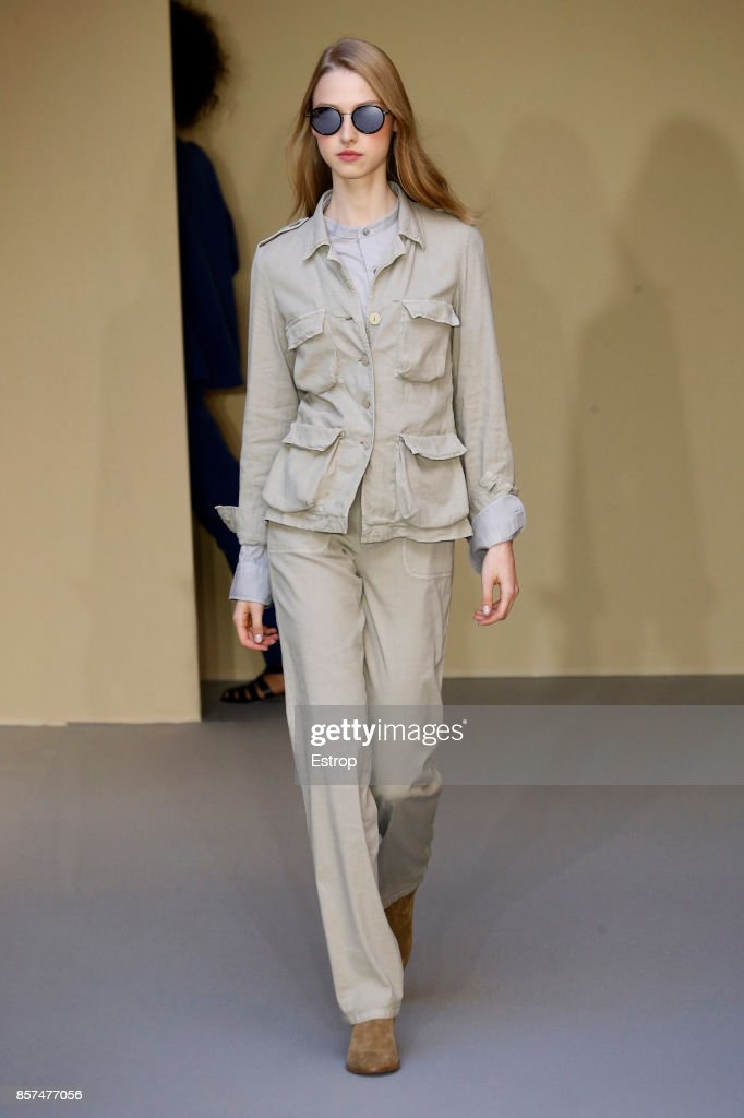 model-walks-the-runway-during-the-agnes-b-paris-show-as-part-of-the-picture-id857477056