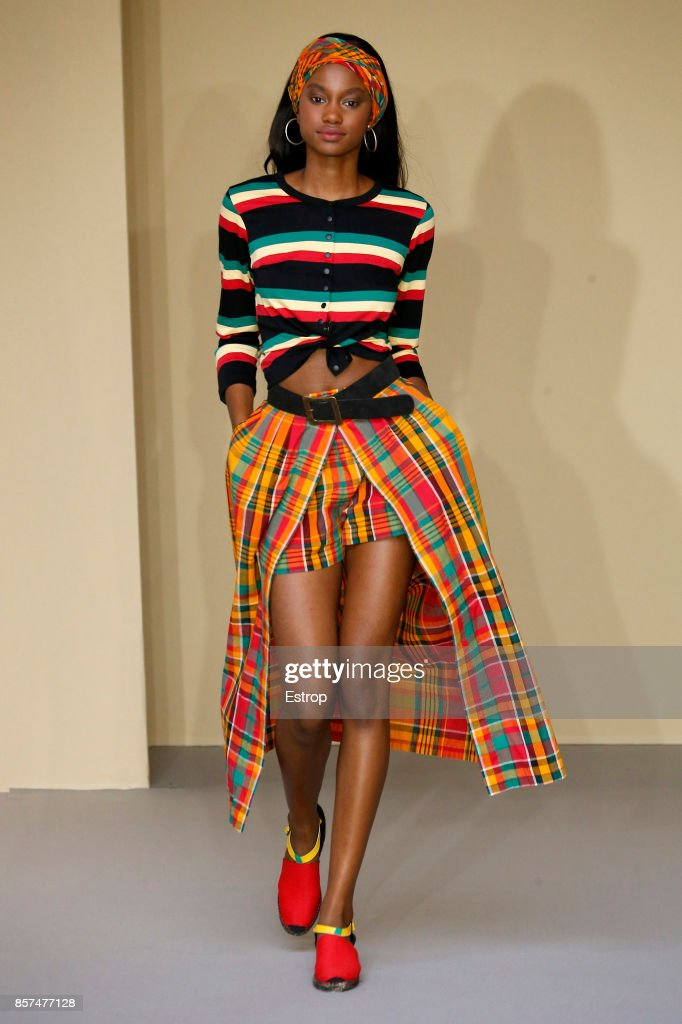 model-walks-the-runway-during-the-agnes-b-paris-show-as-part-of-the-picture-id857477128