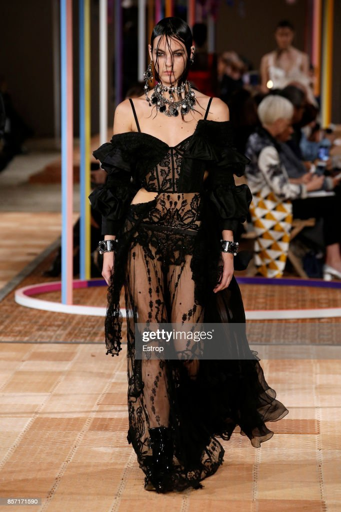 model-walks-the-runway-during-the-alexander-mcqueen-paris-show-as-of-picture-id857171590