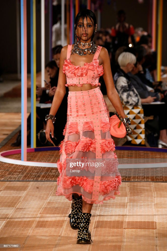model-walks-the-runway-during-the-alexander-mcqueen-paris-show-as-of-picture-id857171662