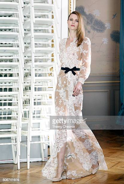 Alexis mabille designer label stock photos and pictures for Haute couture labels
