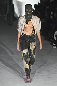 Andrea Crews : Runway - Paris Fashion Week - Menswear...