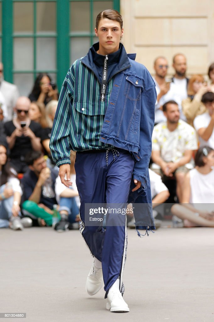 model-walks-the-runway-during-the-andrea-crews-menswear-springsummer-picture-id801304880