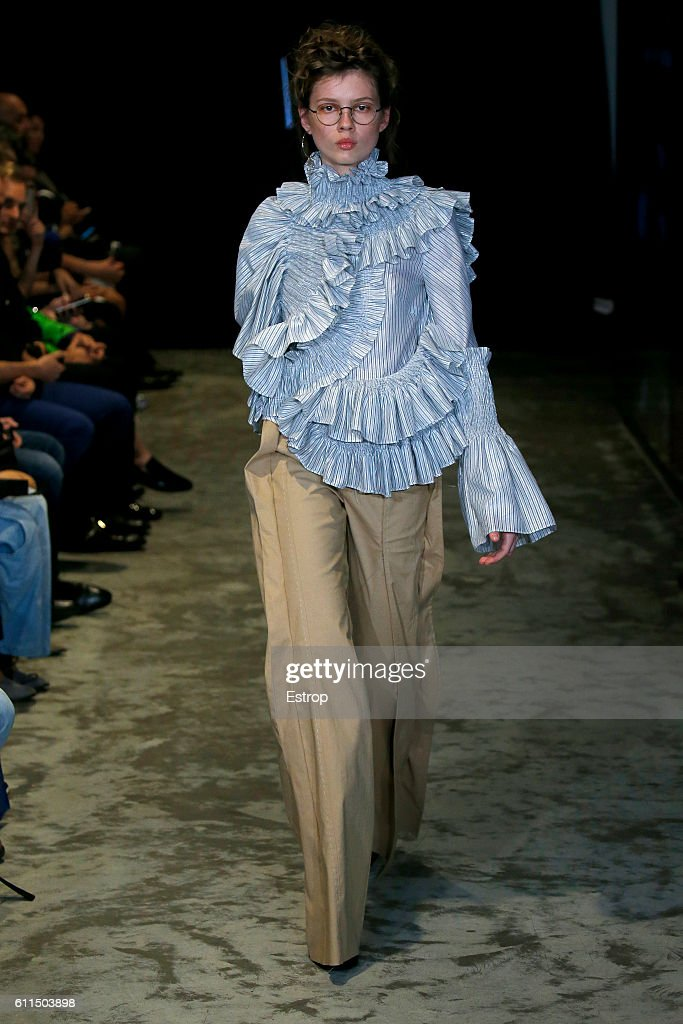 model-walks-the-runway-during-the-anne-sofie-madsen-show-as-part-of-picture-id611503898