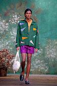 Bode : Runway - Paris Fashion Week - Menswear F/W...