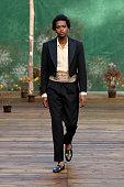 BODE NY : Runway - Paris Fashion Week - Menswear F/W...