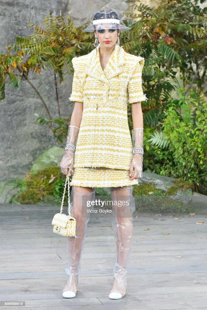 model-walks-the-runway-during-the-chanel-paris-show-as-part-of-the-picture-id856998916