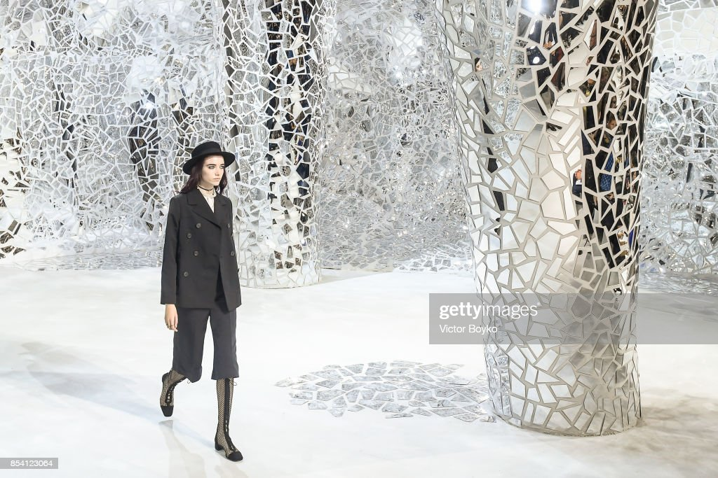 Inside the Christian Dior show at PFW