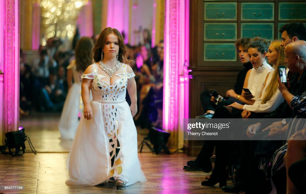 model-walks-the-runway-during-the-dwarfts-fashion-show-as-part-of-the-picture-id854277756
