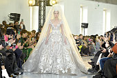 Elie Saab : Runway - Paris Fashion Week - Haute Couture...