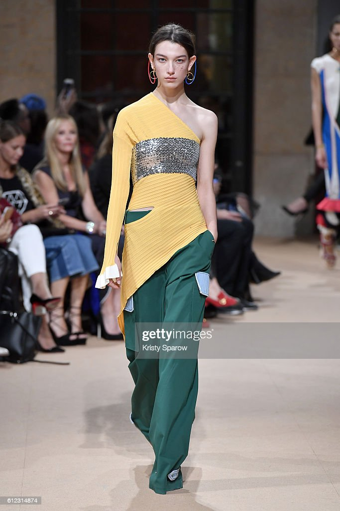 model-walks-the-runway-during-the-esteban-cortazar-show-as-part-of-picture-id612314874