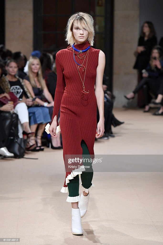 model-walks-the-runway-during-the-esteban-cortazar-show-as-part-of-picture-id612314912
