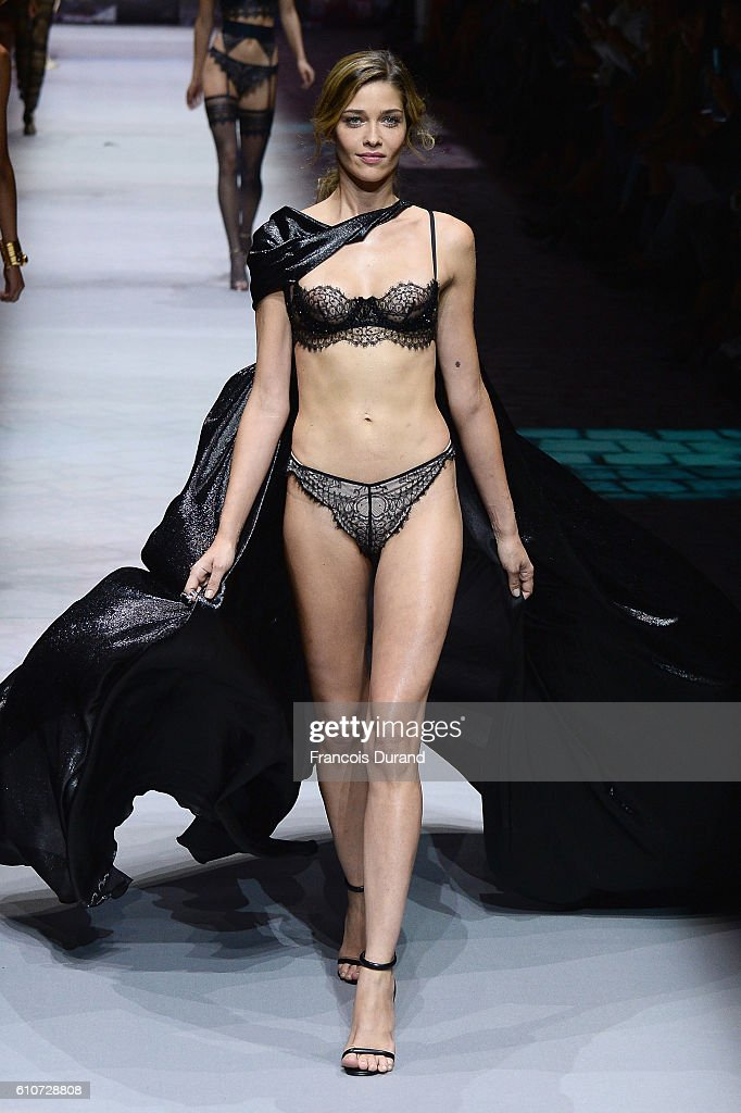 model-walks-the-runway-during-the-etam-show-as-part-of-the-paris-picture-id610728808
