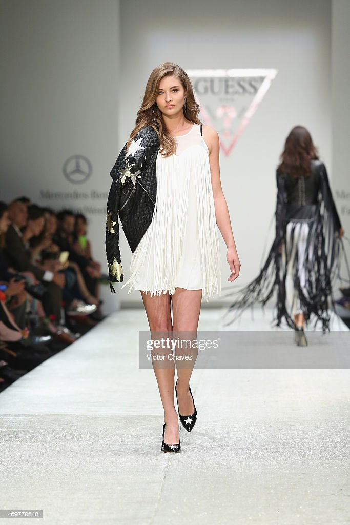 Guess mercedes benz fashion week mexico autumn winter for Mercedes benz fashion show