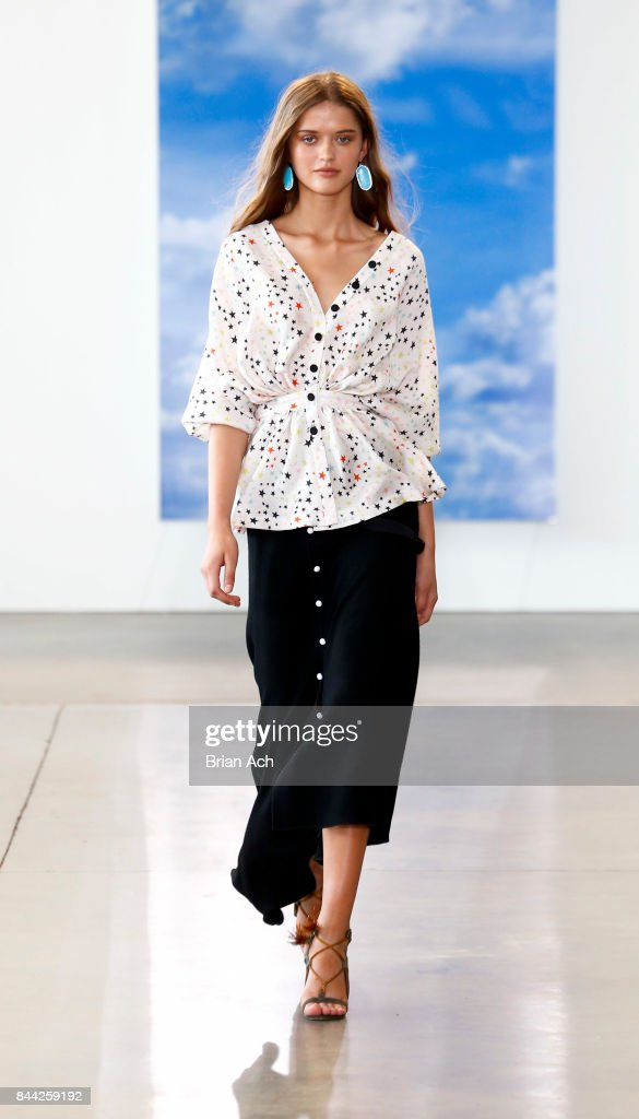 model-walks-the-runway-during-the-hellessy-fashion-show-at-pier-59-on-picture-id844259192