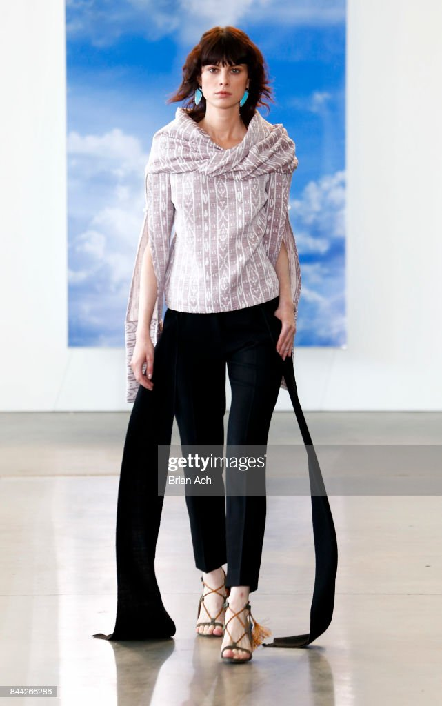 model-walks-the-runway-during-the-hellessy-fashion-show-at-pier-59-on-picture-id844266286