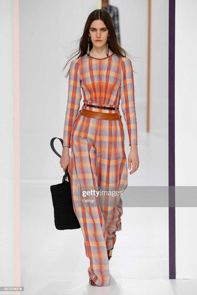 model-walks-the-runway-during-the-hermes-paris-show-as-part-of-the-picture-id857079078