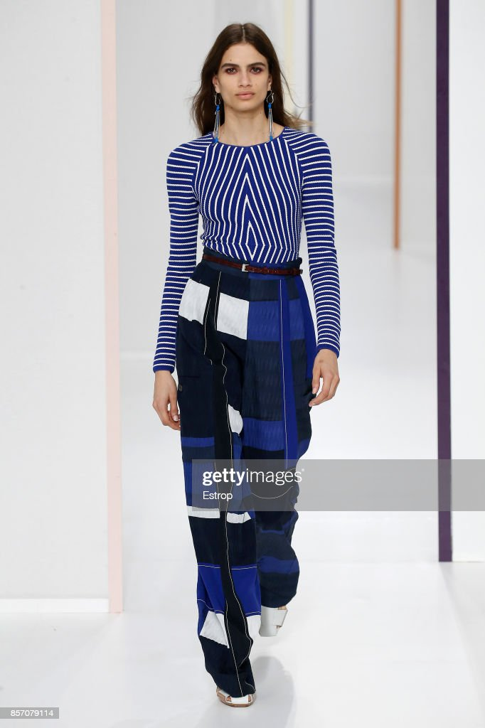 model-walks-the-runway-during-the-hermes-paris-show-as-part-of-the-picture-id857079114