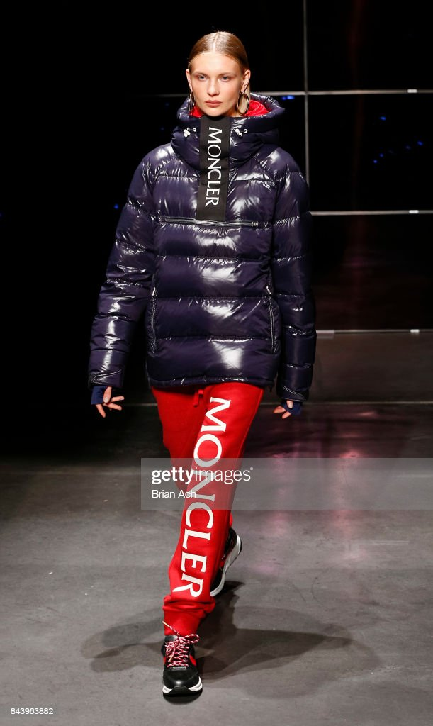 model-walks-the-runway-during-the-kith-sport-fashion-show-at-the-car-picture-id843963882