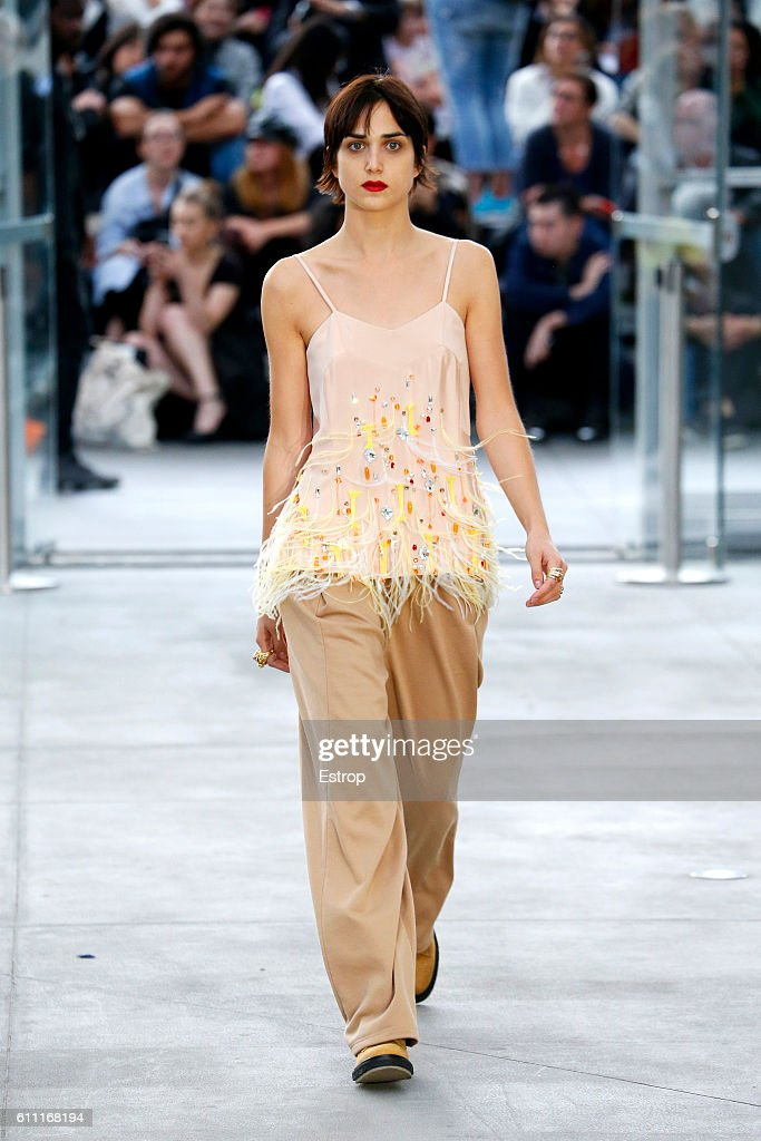 model-walks-the-runway-during-the-koche-show-as-part-of-the-paris-picture-id611168194