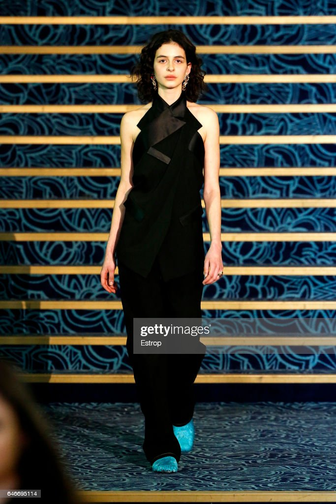 model-walks-the-runway-during-the-koche-show-as-part-of-the-paris-picture-id646695114