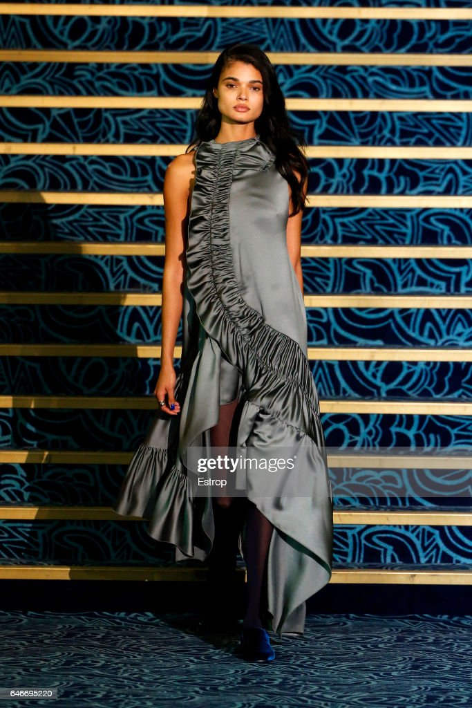 model-walks-the-runway-during-the-koche-show-as-part-of-the-paris-picture-id646695220