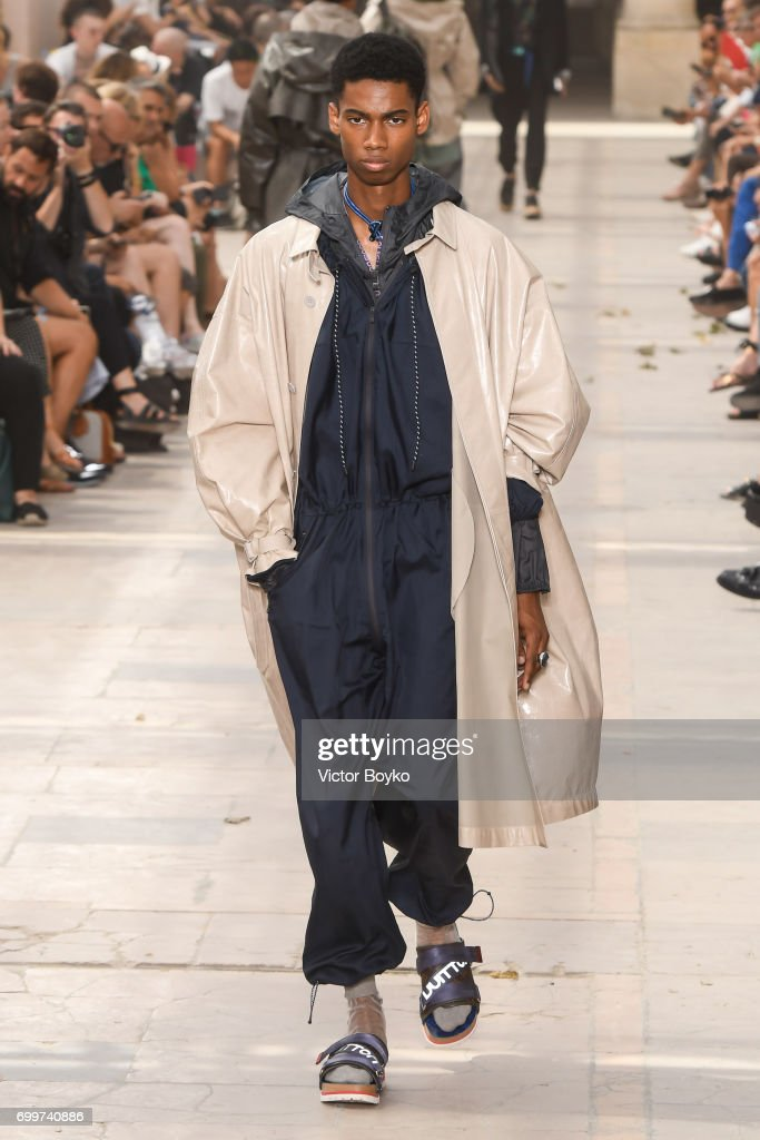 model-walks-the-runway-during-the-louis-vuitton-menswear-springsummer-picture-id699740886