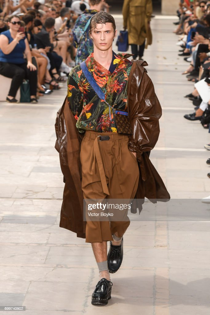 model-walks-the-runway-during-the-louis-vuitton-menswear-springsummer-picture-id699740902