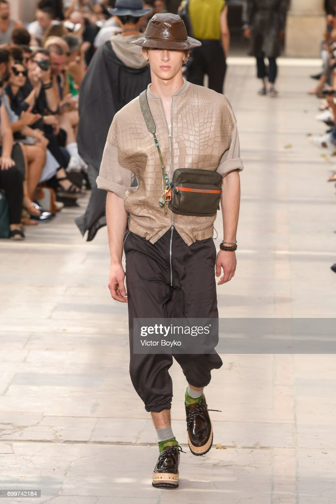 model-walks-the-runway-during-the-louis-vuitton-menswear-springsummer-picture-id699742184