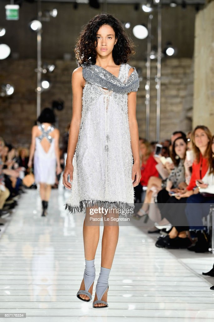 model-walks-the-runway-during-the-louis-vuitton-paris-show-as-part-of-picture-id857176334
