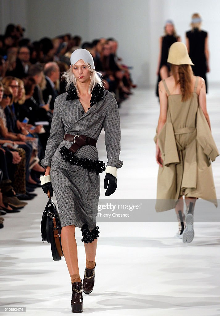 model-walks-the-runway-during-the-maison-margiela-show-as-part-of-the-picture-id610892474