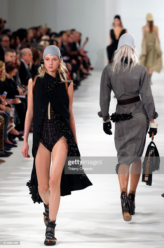 model-walks-the-runway-during-the-maison-margiela-show-as-part-of-the-picture-id610892488