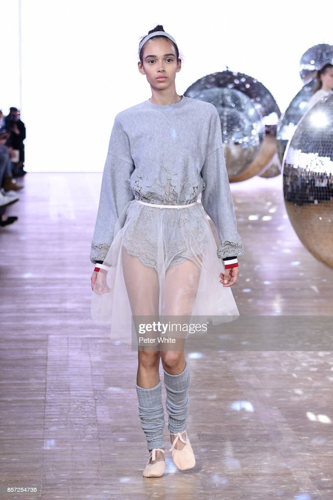 model-walks-the-runway-during-the-moncler-gamme-rouge-paris-show-as-picture-id857254736