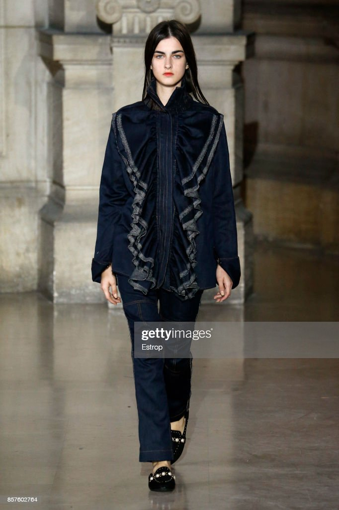 model-walks-the-runway-during-the-moon-young-hee-paris-show-as-part-picture-id857602764
