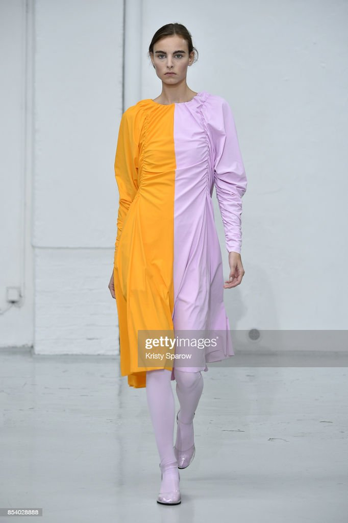 model-walks-the-runway-during-the-paskal-show-as-part-of-paris-week-picture-id854028888