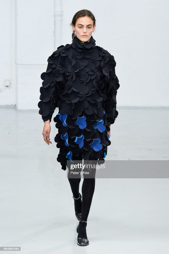 model-walks-the-runway-during-the-paskal-show-as-part-of-the-paris-picture-id854064184