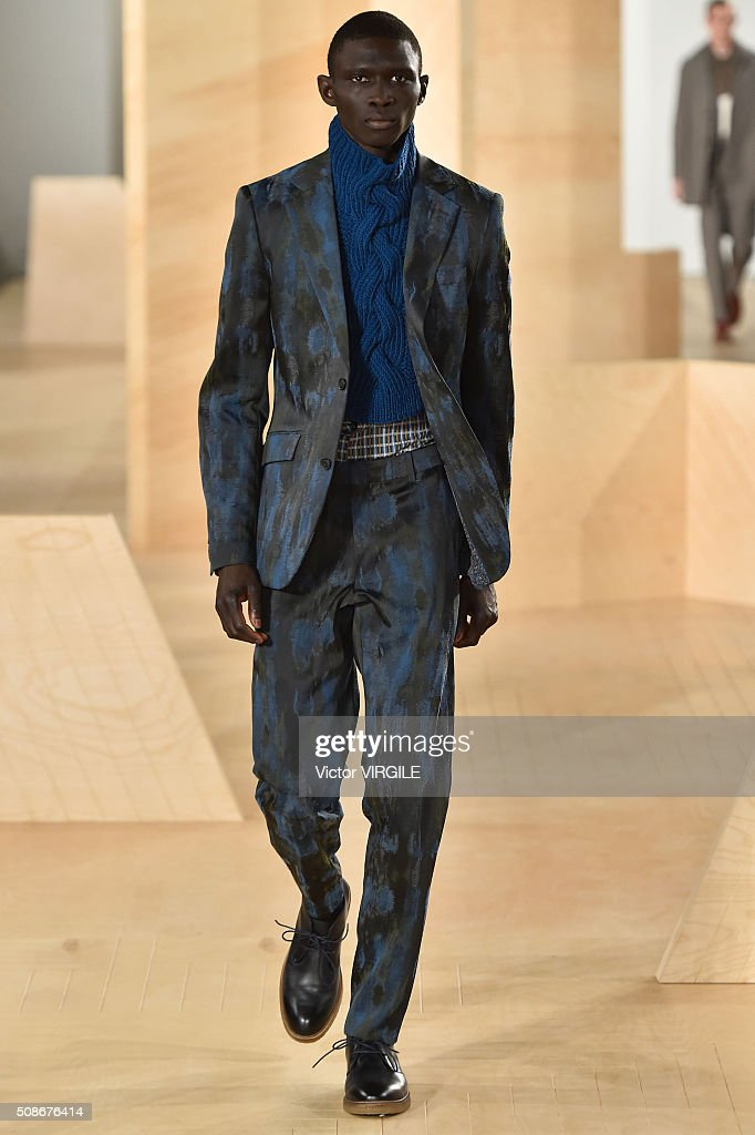 Perry Ellis - Runway - New York Fashion Week Men's Fall/Winter 2016