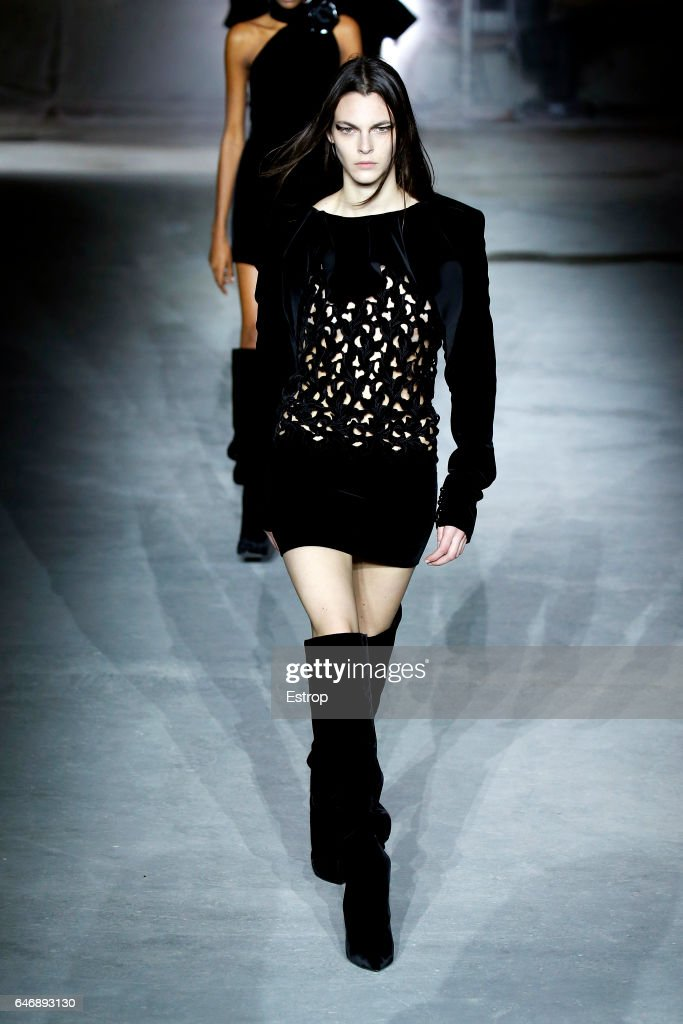 model-walks-the-runway-during-the-saint-laurent-designed-by-anthony-picture-id646893130