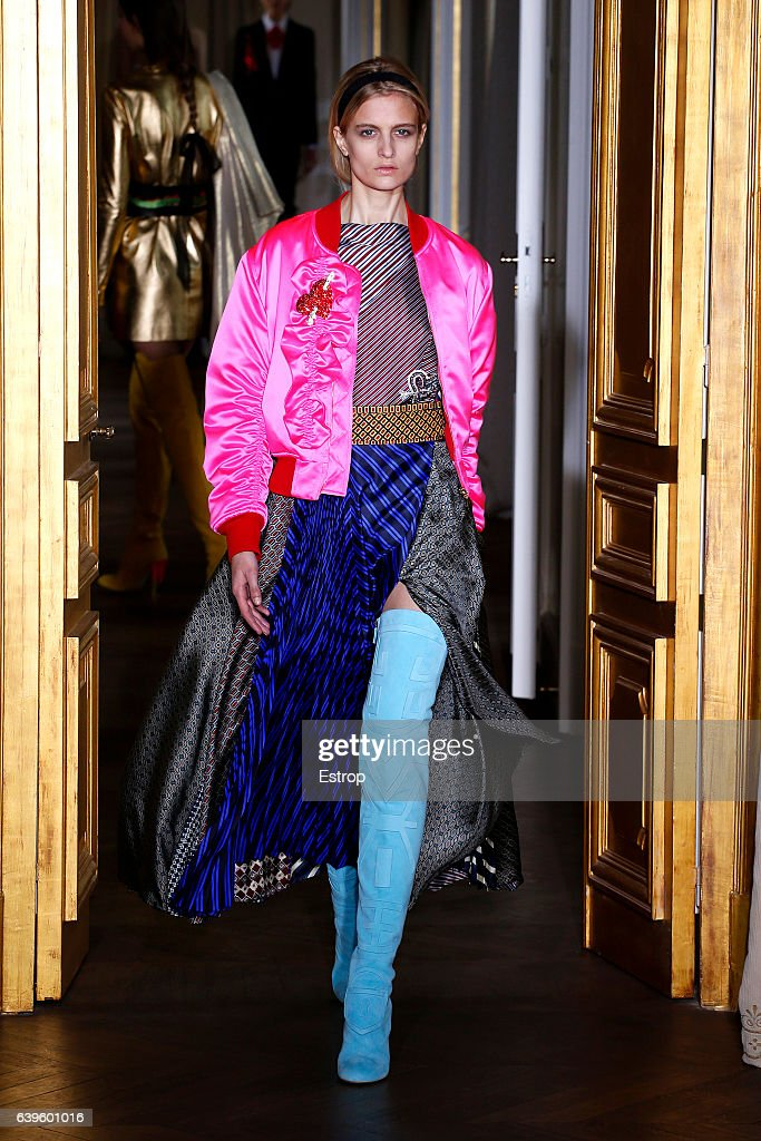 model-walks-the-runway-during-the-schiaparelli-spring-summer-2017-as-picture-id639601016