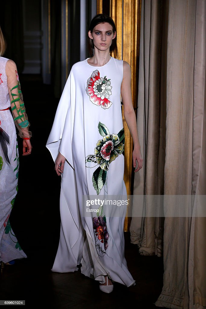 model-walks-the-runway-during-the-schiaparelli-spring-summer-2017-as-picture-id639601024
