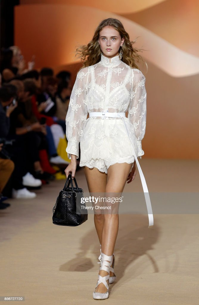 model-walks-the-runway-during-the-shiatzy-chen-paris-show-as-part-of-picture-id856727720