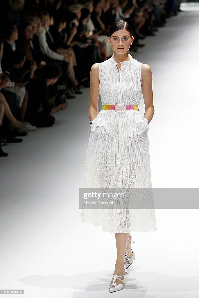 model-walks-the-runway-during-the-shiatzy-chen-show-as-part-of-the-picture-id612439976