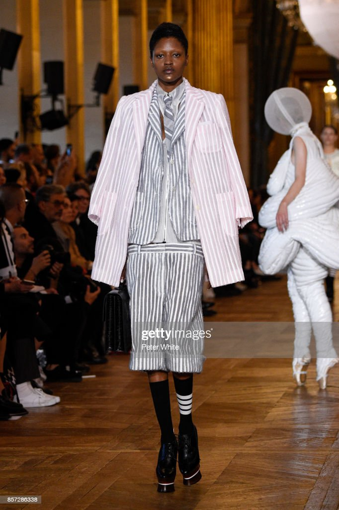 model-walks-the-runway-during-the-thom-browne-fashion-show-as-part-of-picture-id857286338