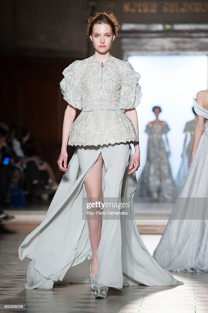 model-walks-the-runway-during-the-tony-ward-couture-spring-summer-picture-id632508258