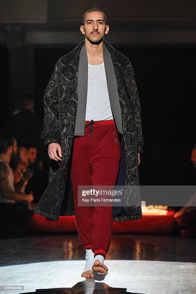Umit Benan : Runway - Paris Fashion Week - Menswear F/W 2016-2017