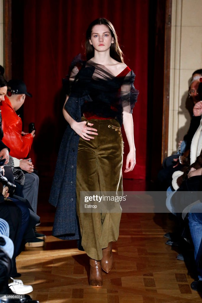 model-walks-the-runway-during-the-yproject-designed-by-gleen-martens-picture-id646904024