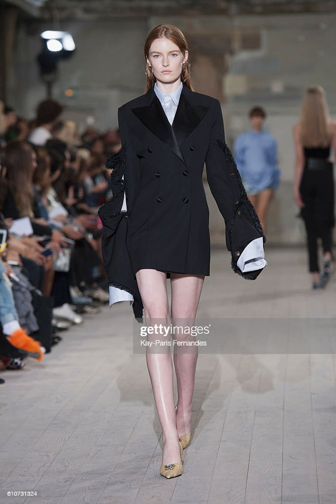 model-walks-the-runway-during-the-yproject-show-as-part-of-the-paris-picture-id610731324