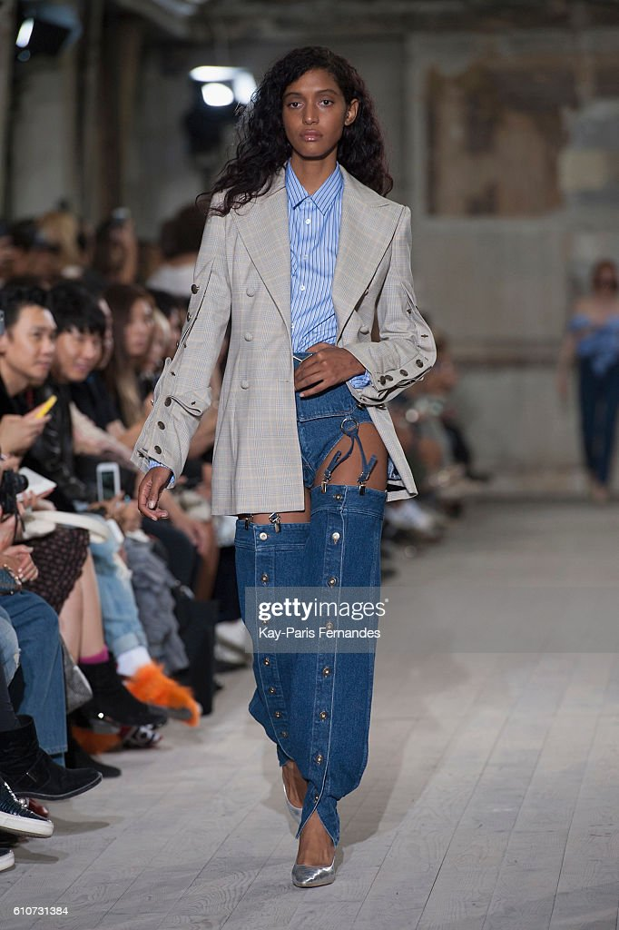 model-walks-the-runway-during-the-yproject-show-as-part-of-the-paris-picture-id610731384